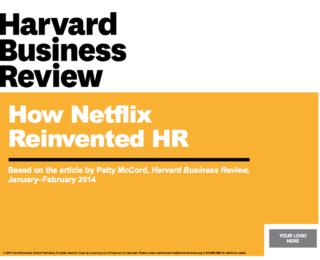 HBR: PowerPoint Deck